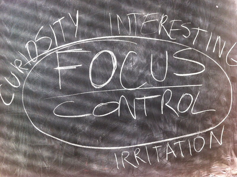 Focus control - can we choose what information to receive?