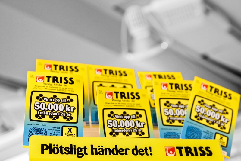 Triss lottery in Sweden
