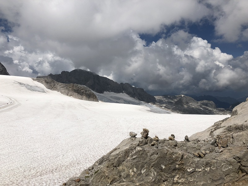Dachstein - the view from above- Glacier