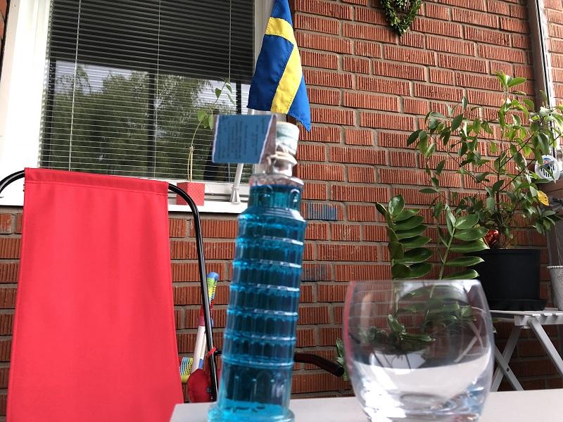Vodka Azzurra a Saturday evening