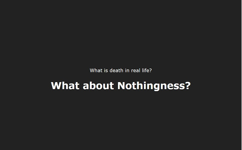 The death - what is it in real life?