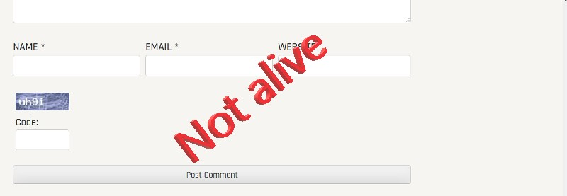 StopSpamApi not alive
