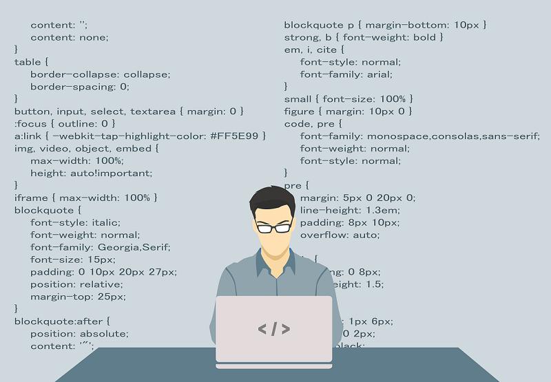Web developer and computer